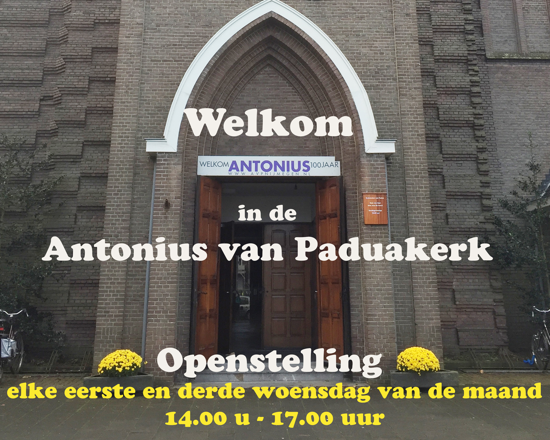 Spandoek openstelling 15x12